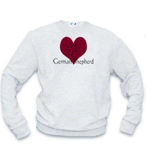 Sweatshirt - I love German Shepherd dogs
