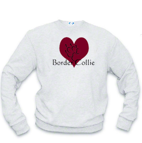 Sweatshirt - I love Border Collies