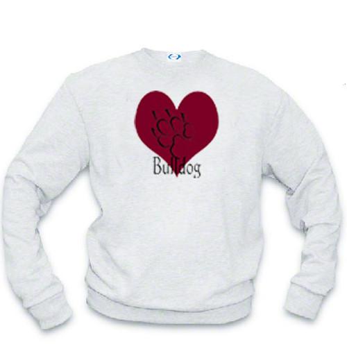 Sweatshirt - I love Bulldogs