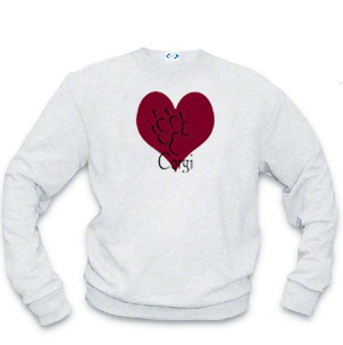 Sweatshirt - I love Corgi dogs