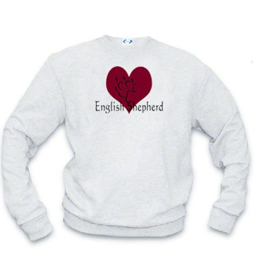 Sweatshirt - I love English Shepherds