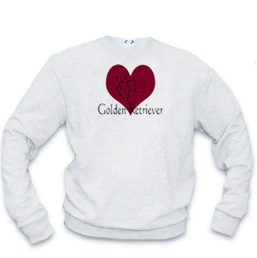 Sweatshirt - I love Golden Retrievers