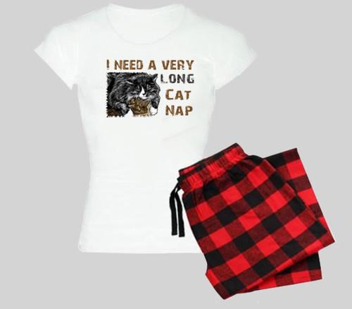 Cat Pajama Set - Cat Nap