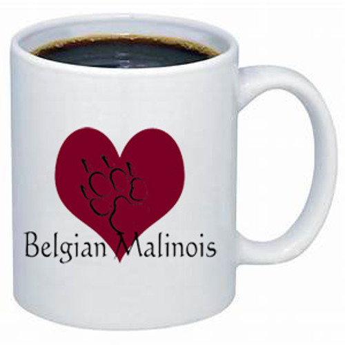 Belgian Malinois Shepherd lover's dog coffee mug