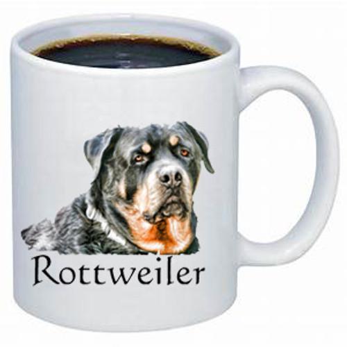 Rottweiler lover's dog coffee mug