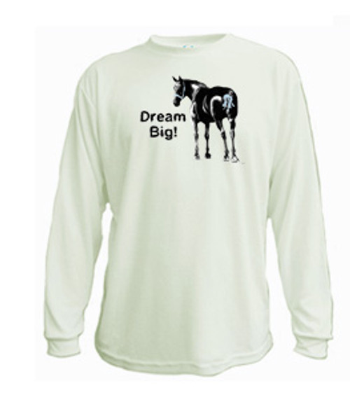 Draft horse long sleeved t-shirt