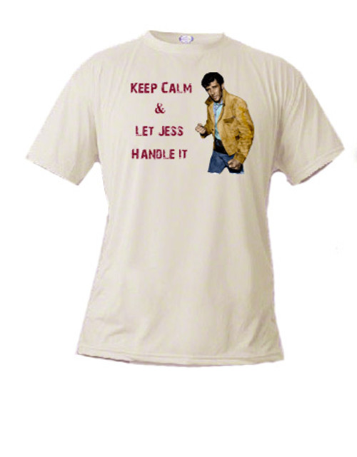 Robert Fuller T-shirt - Let Jess Handle It