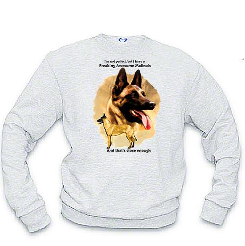 K9 Sweatshirt Freaking Awesome Malinois