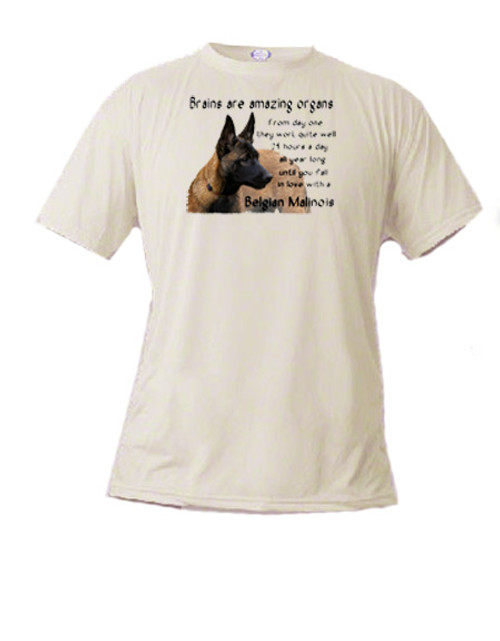 Belgian Malinois dog lover's t-shirt
