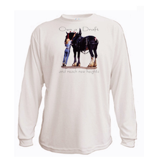 Shire Draft Horse - Own a Draft and you'll reach new heights