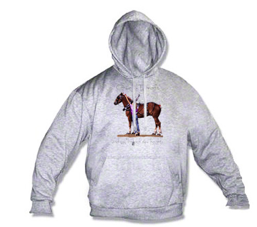 Belgian Draft Horse Hoodie - Reach New Heights