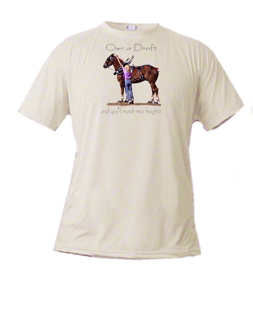 Belgian Draft Horse T Shirt - Reach New Heights