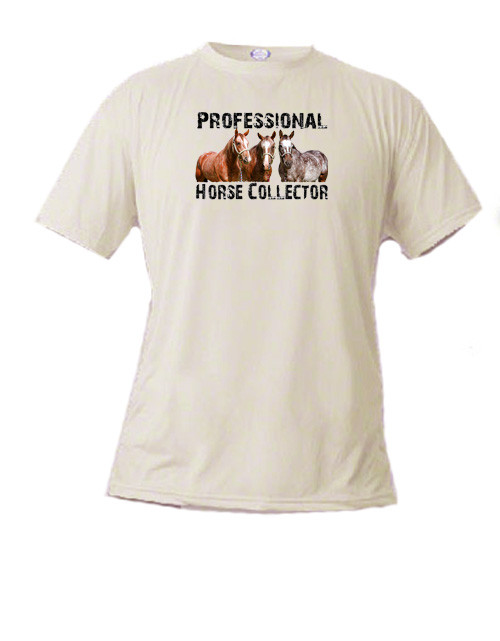 Horse Lover's t-shirt - Professional Horse Collector