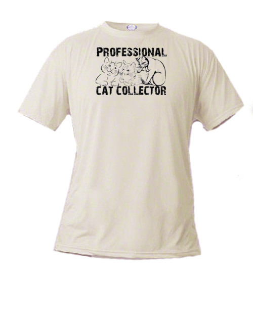 Cat lover's t-shirt - Professional Cat Collector