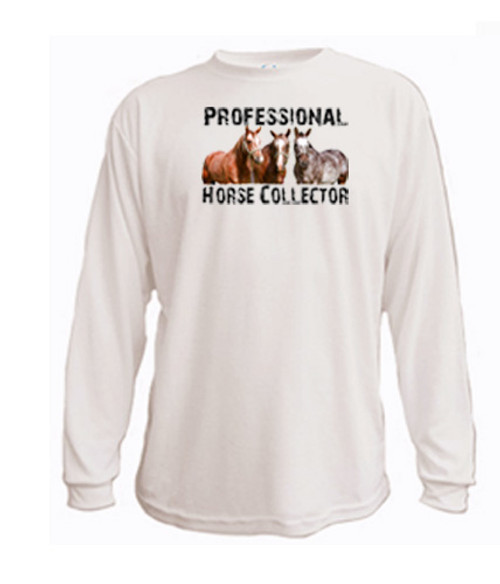 Long Sleeved t-shirt - Professional Horse Collector