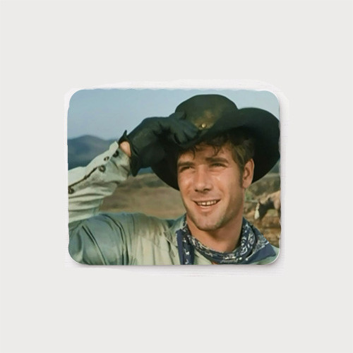 Jess tips his hat (adjusts his hat in a Laramie episode - No Place to Run