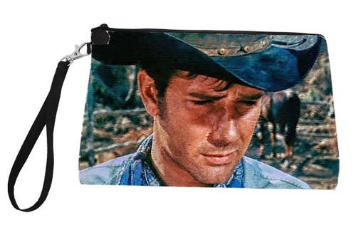 Large Robert Fuller Zippered linen bag - Laramie Jess