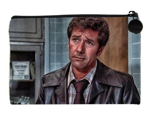 Robert Fuller Small zippered bag - Worried Doctor Brackett from Emergency