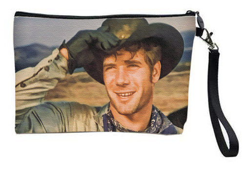Robert Fuller Large zippered bag -Hat Tip & a Smile