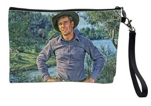 Robert Fuller Large zippered bag-Jess-Stage Stop