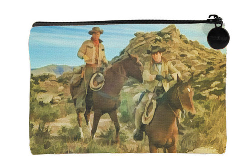 Robert Fuller Small zippered bag- Looking For Wild Horses