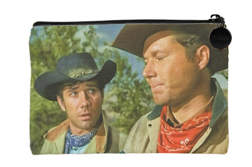 Robert Fuller Small zippered bag-Tell Me You're Joking