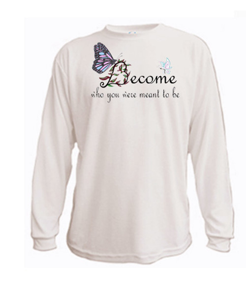 LGBTQ long sleeved t-shirt - Transgender - Become who you were meant to be