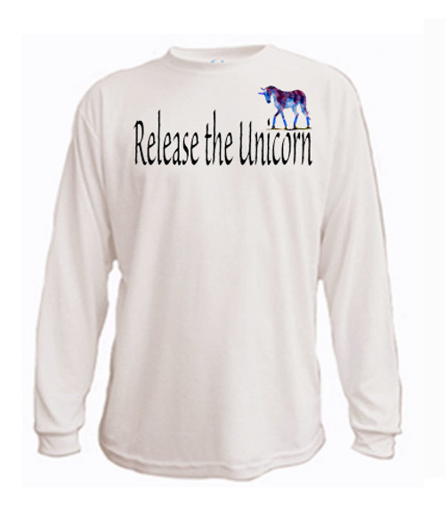 LGBTQ - long sleeved t-shirt: Release The Unicorn