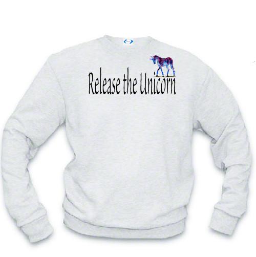 LGBTQ Sweatshirt: Release the Unicorn