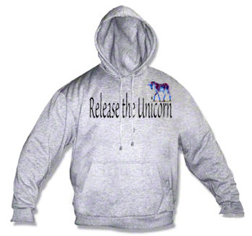 LGBTQ Hoodie: Release The Unicorn