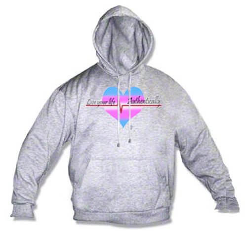 LGBTQ Hoodie - Live Your Live, Authentically