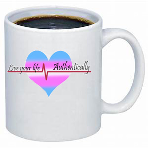 LGBTQ mug - Live Your Life, Authentically