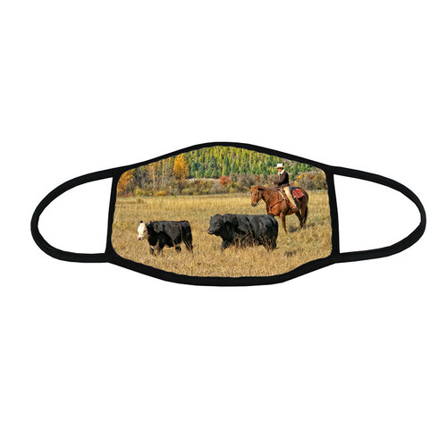 Horse/Equine Face Mask -  Rounding Up Strays