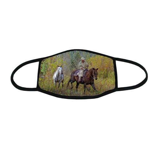 Trail Less Traveled face mask