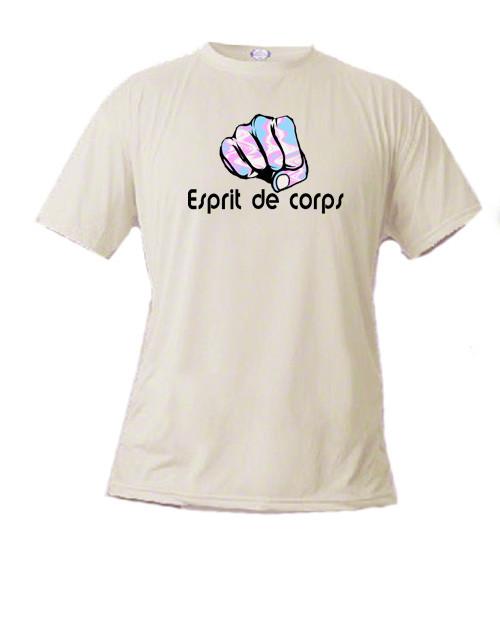 Transgender Pride t-shirt - Esprit de corps