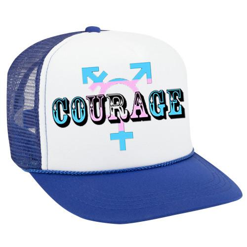 LGBTQ Transgender ball cap - Courage