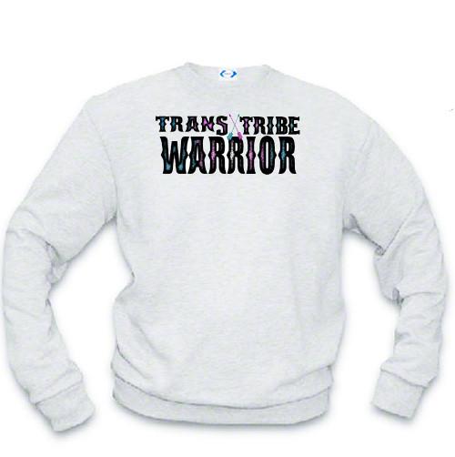 Transgender Sweat shirt - Trans Tribe Warrior