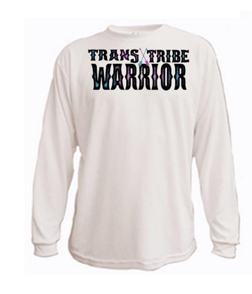 Transgender long sleeved t-shirt - Trans Tribe Warrior
