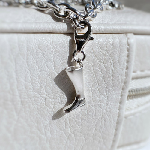 Sterling Silver Riding Boot Charm