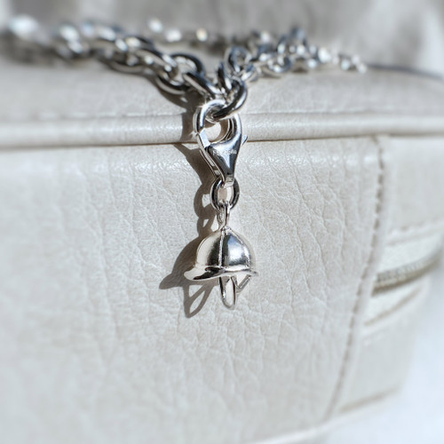 Sterling Silver Riding Hat Charm