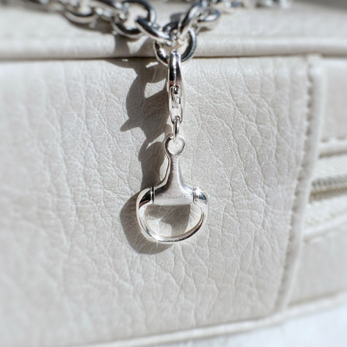 Sterling Silver Snaffle Charm