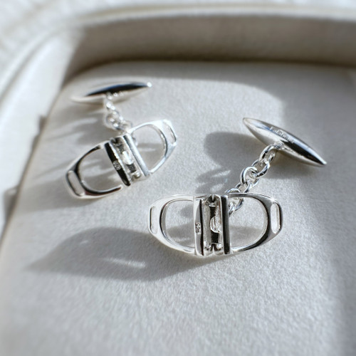 Double Stirrups Cufflinks