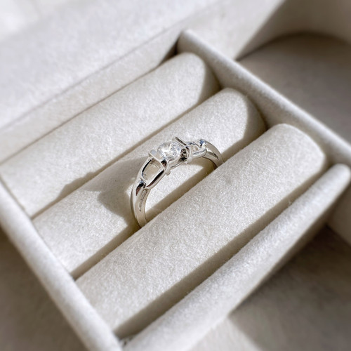 Sterling Silver Stirrup Ring