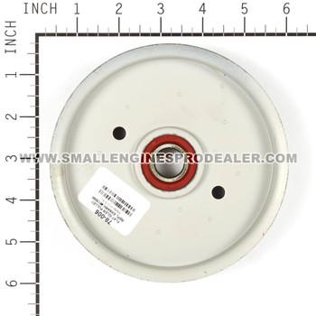 78-006 - IDLER PULLEY FLAT EXMARK - OREGON - Image 1