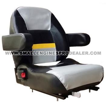 HUSTLER SEAT W/ ISOLATOR 605812 - Image 1