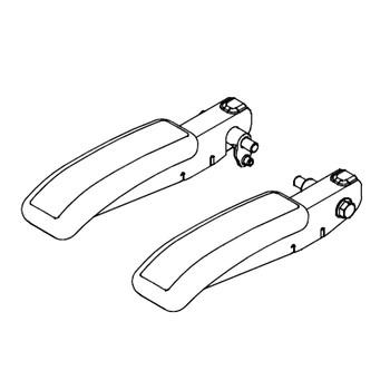 HUSTLER SUPER DELUXE SEAT ARMRES 603260 - Image 1