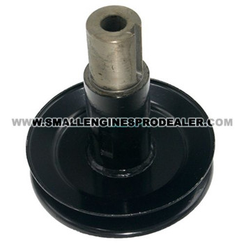 HUSTLER PULLEY PUMP STUB SHAFT 604185 - Image 1
