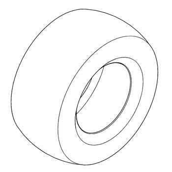 HUSTLER TIRE 24X12.00-12 B4R GRMR 606967 - Image 1
