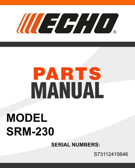Echo-SRM 230-owners-manual