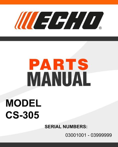 Echo-CS-305-owners-manual